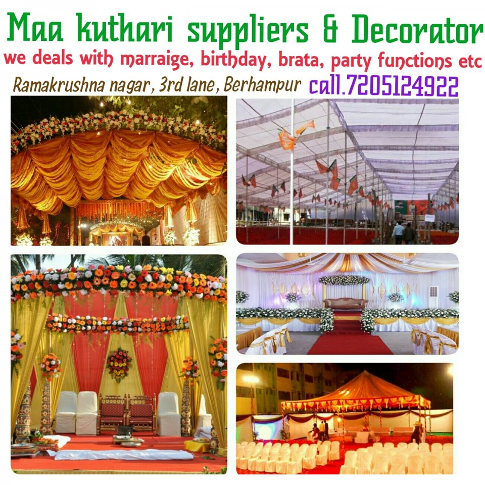 Maa kuthari suppliers & Decorator